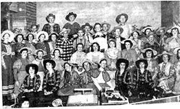 TAMS Oklahoma Cast 1970