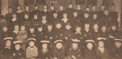 Wormit BB Junior Section and Anchor Boys, c.1980