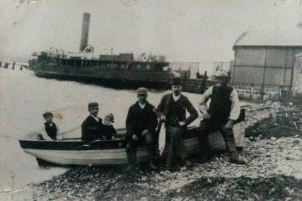 Salmon Fishers at Pier Beach