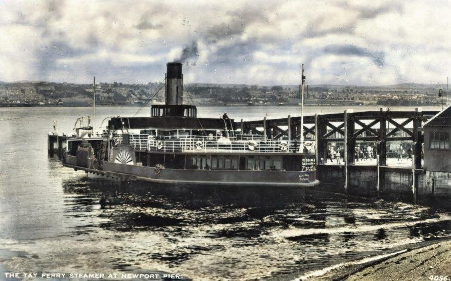 B L Nairn at Newport Pier