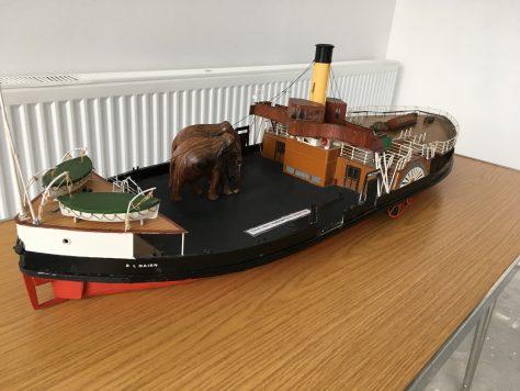 Model of B L Nairn Ferry