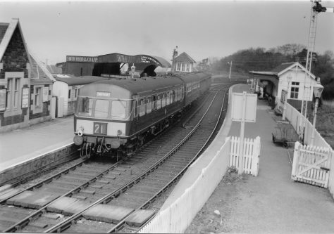 Diesel Train at East Newport