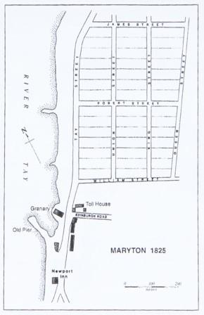 Maryton Village 1825