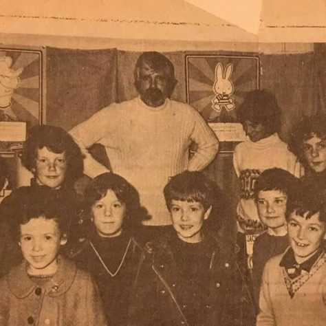 Forgan Arts Centre Children's Book Exhibition 1970s