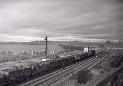Goods Train at Wormit