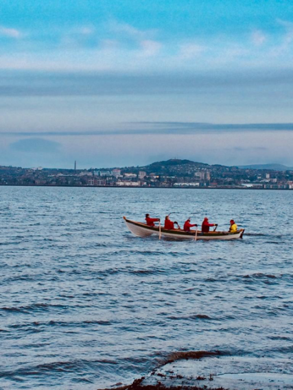Rowing at Wormit | Alex John
