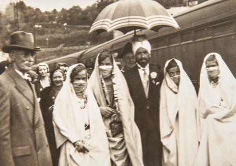 Maharajah Visits Woodhaven 1933