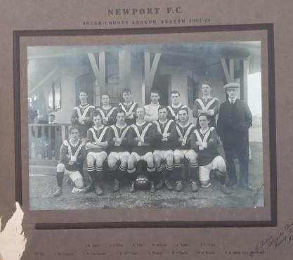 Newport Football Team 1913