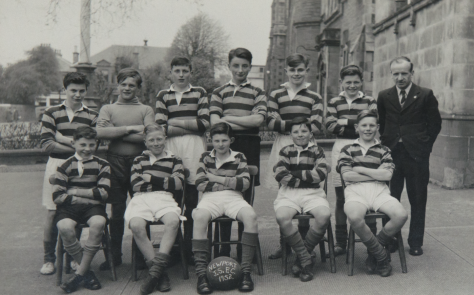 Newport School Football Team 1952