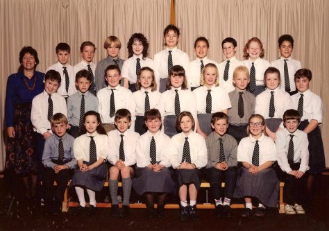 Newport School  P7 1990