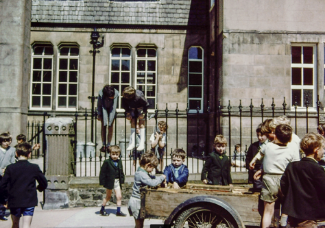 Newport School Playground 1970