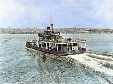 Scotscraig on Passage to Dundee