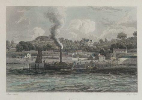 Newport Pier: Foundation Stone Ceremony 1823