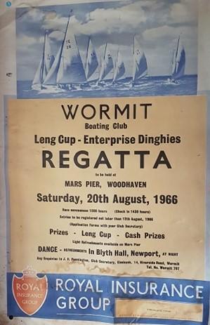 Wormit Boating Club Regatta Poster 1966