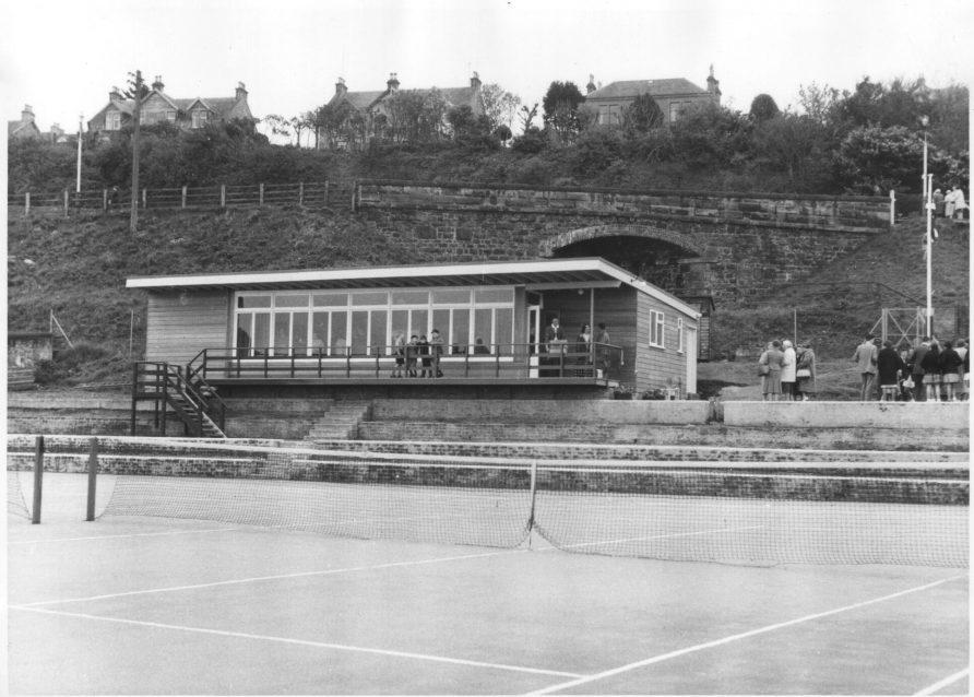 Wormit Tennis Club New Pavilion 1961 | Grant Balfour