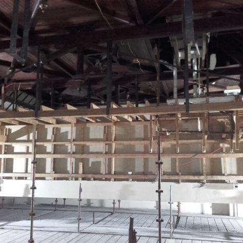Blyth Hall: Inside the Roof