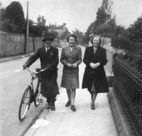 Walking on West Road in Wartime
