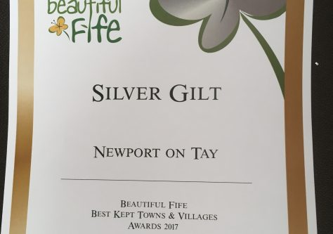 Newport and Wormit in Bloom Beautiful Fife Awards 2018