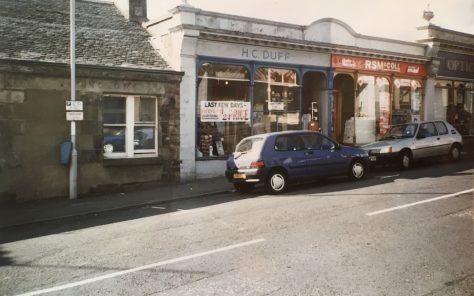 Miss Duff's Draper Shop, High Street