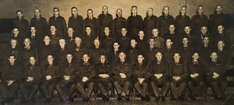 Officers of Fife (Wormit) Home Guard 1944