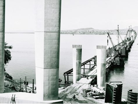 Tay Road Bridge Construction