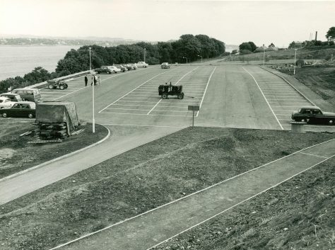 Tay Road Bridge Construction: Car Park
