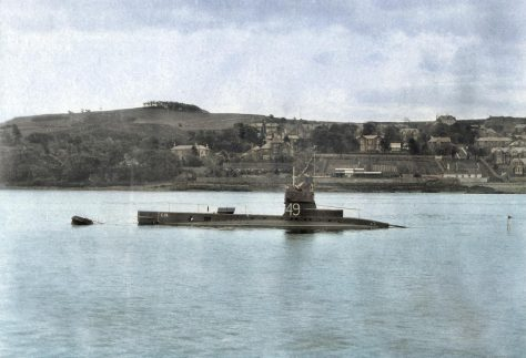 A Submarine and East Newport