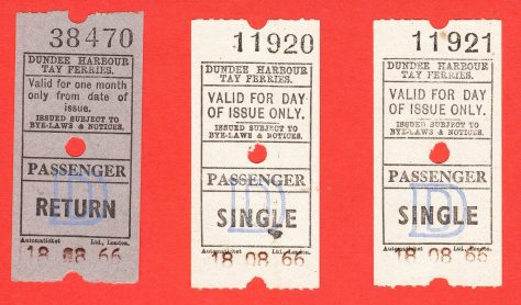 Last Day Ferry Tickets