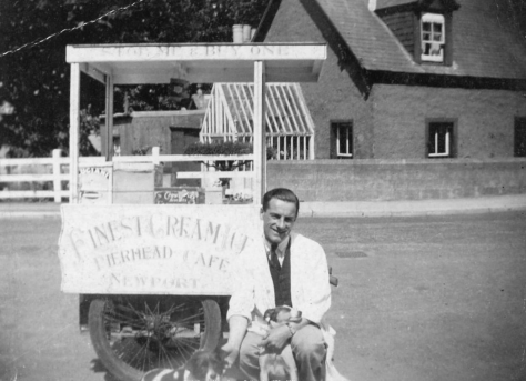 Ice Cream Cart at Woodhaven