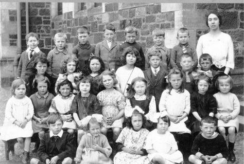 Wormit School 1920s