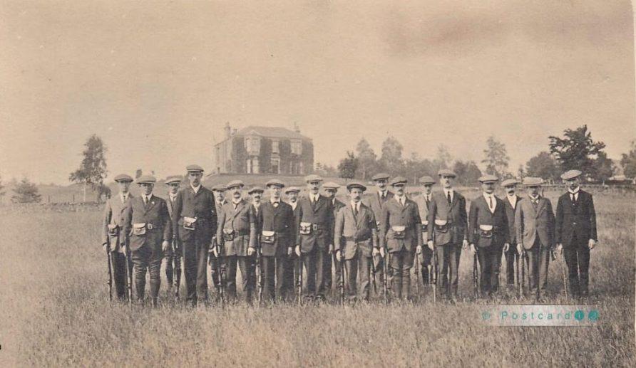 Newport Artillery Volunteers at Inverdovat