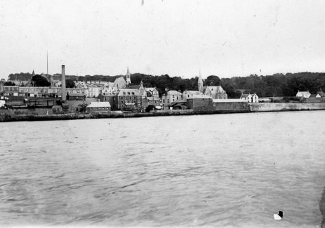 East Newport from River c. 1900