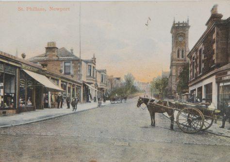 Cupar Road Shops
