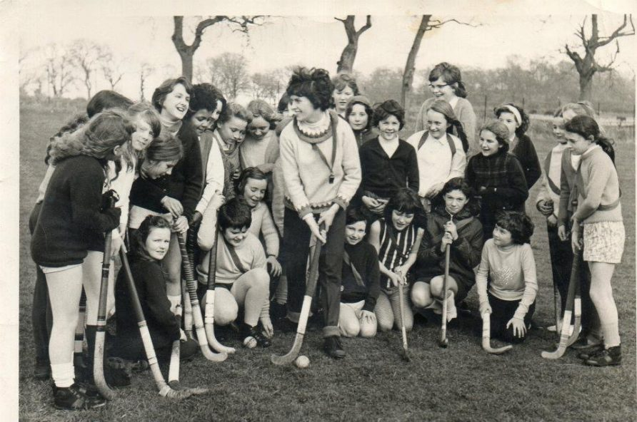 Hockey in Windmill Park 1971