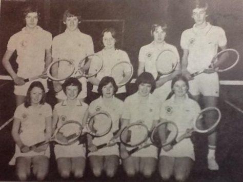 1977 Midland Tennis Team at Waterstone Crook