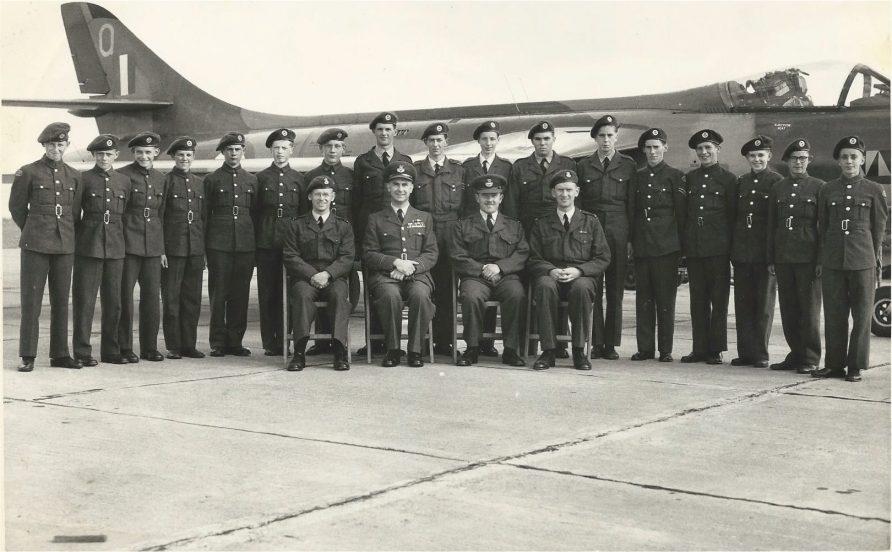 2345 Tayside (Newport) Air Cadets c. 1959