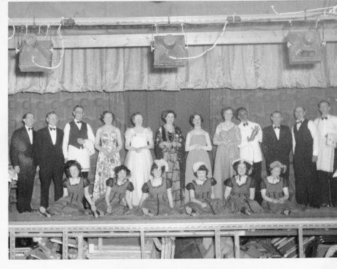 A Tennis Racket: Wormit Tennis Club 1956