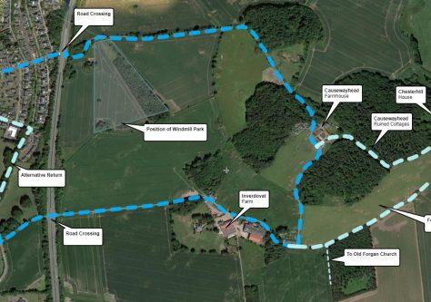 Walk 1: Causewayhead and Washer Willy's Circular Walk