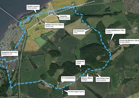 Walk 3: Scotscraig Estate and The Serpentine Circular Walk
