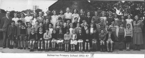 Balmerino Primary School 1954