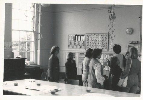Inside Newport School 1970s