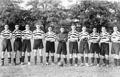 Wormit Football Club 1940s