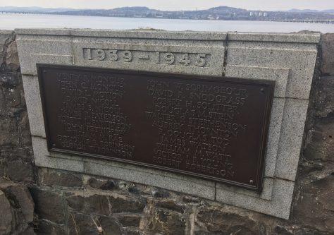 World War II Memorial Panel