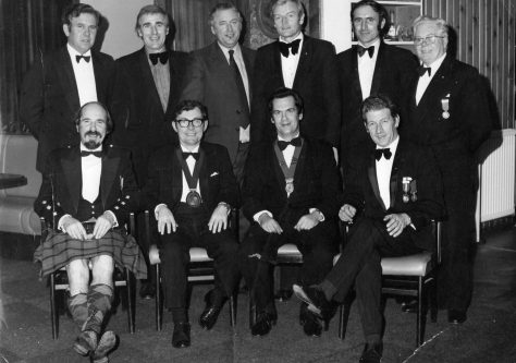 Round Table Dinner 1970s