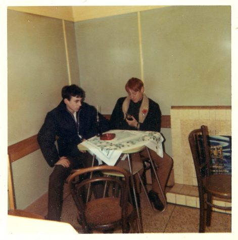 In Janetta's Cafe c. 1968