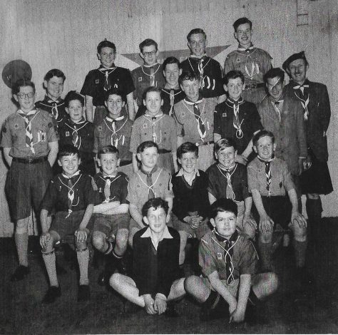 34th Fife, 1st Newport Scout Troop 1954