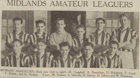 Wormit Football Club 1949-1950