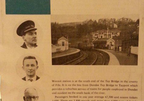 Wormit Station 1960s